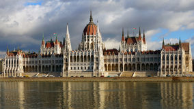 The bilding of Parliament in Budapest, Hungary Royalty Free Stock Photography