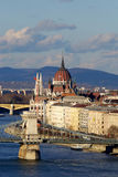 The bilding of Parliament in Budapest, Hungary Royalty Free Stock Photo