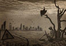 Bildkatastrophe auf Erde Stockbilder