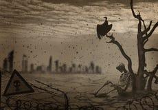 Bildkatastrophe auf Erde Lizenzfreies Stockfoto