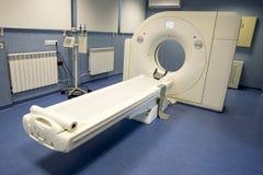 Bildläsning för kopiering för magnetisk resonans MRI arkivbild
