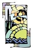 bildliggande royaltyfri illustrationer
