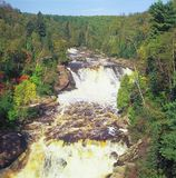 Bildmässig bäverflod - Minnesota Royaltyfria Foton