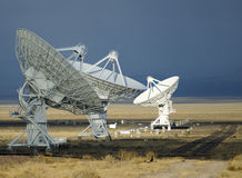 bildradioteleskop Arkivbild