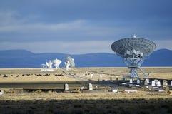 bildradioteleskop Fotografering för Bildbyråer