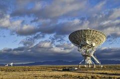 bildradioteleskop Arkivfoto