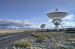 bildradioteleskop Arkivbilder