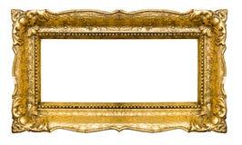 Bildram för stor och gammal guld Royaltyfria Bilder