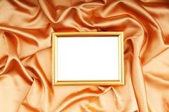 Bildramar på färgsatängen Royaltyfria Foton