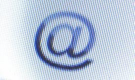 Bildschirm-Ikone lizenzfreie stockbilder