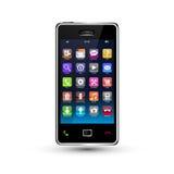 Bildschirm- smartphone Lizenzfreie Stockbilder