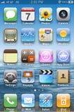 Bildschirmanzeige auf iPhone 4s
