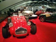 Bildschirmanzeige der klassischen Autos am Selbsterscheinen Lizenzfreie Stockbilder