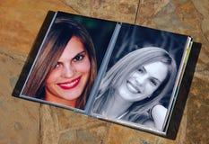 Bildschirmanzeigebuchphotograph Lizenzfreies Stockbild