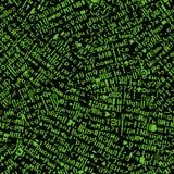 Bildschirmschrifttyp zerrissen (vektornahtlose Tapete) Stockbilder