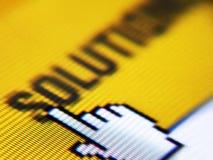 Bildschirmschuß Lizenzfreie Stockfotos