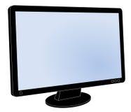 Bildskärm för dator för plan skärm för LCD, skärmmellanrum Royaltyfria Foton