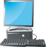 bildskärm för datortangentbord Arkivfoto