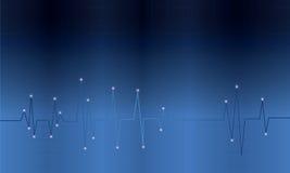 Bildskärm för hjärtatakt Fotografering för Bildbyråer