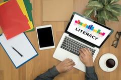 BILDUNG Bildungs-Schulfinanzbildung zur Bildung Lizenzfreies Stockfoto