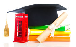 Bildung in Großbritannien-Konzept Stockbild