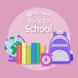 Bildung im Schulkonzepthintergrund Lizenzfreies Stockfoto