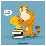 Bildung ist Supermacht zu Erfolg 3 Stockfotos