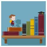 Bildung ist Supermacht zu Erfolg 4 Lizenzfreies Stockfoto