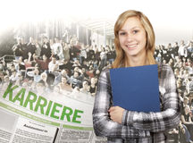 Bildung und Karriere Lizenzfreies Stockbild