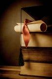 Bildung und Staffelungs-Konzept - Weinlese Stockbilder