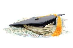 Bildungs-Kosten Stockbild
