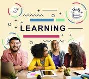 Bildungs-Lektion lernen Studien-Studenten Concept lizenzfreies stockfoto