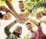 Bildungs-Studenten-Leute-Wissens-Konzept Lizenzfreie Stockbilder