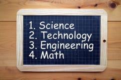 Bildungs-Themen Lizenzfreies Stockbild