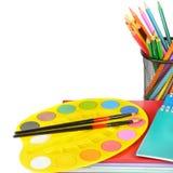 Bildungsarbeitsplatz-Hintergrundkonzepte Ausbildungsarbeitsplatz-BAC stockbild