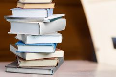Bildungsbücher Stockfotografie