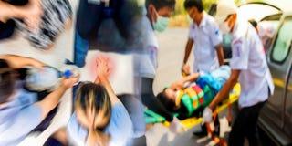 Bildungsgesundheitswesenerste hilfe der Herz-Lungen-Wiederbelebung stockbild