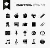 Bildungskonzept zurück zu Schulneuem Ikonensatz. lizenzfreie abbildung