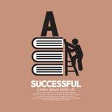 Bildzeichen-Begriffsideen von erfolgreichem Lizenzfreies Stockbild