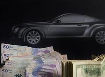 Bilen av mina drömmar royaltyfria foton