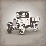 bilen parts retro ryss Royaltyfri Bild