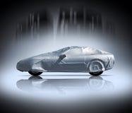 bilen räknade Arkivfoto