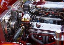 bilen specialtillverkade motorn Arkivfoto