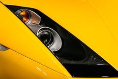 Bilen tänder Fotografering för Bildbyråer