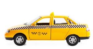 bilen taxar Fotografering för Bildbyråer