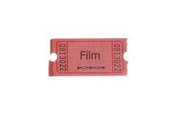 bilet do filmu Obrazy Stock