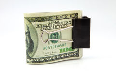 Bileta amerykanina dolary Obraz Royalty Free