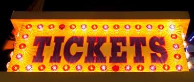bilety Obrazy Stock