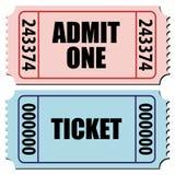bilety Obraz Stock