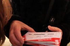Bilety dla musicalu, inny/ zdjęcie royalty free